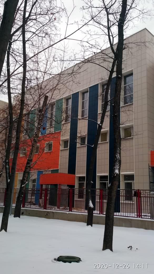 Блок начальных классов центра образования № 825